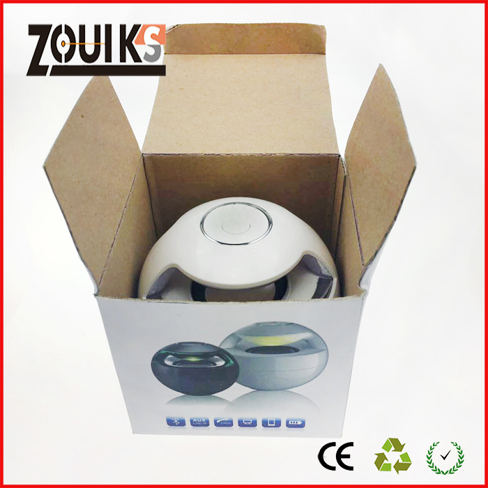 zouiks alien bluetooth speaker box ZS-002  with beautiful light , build-in 's image