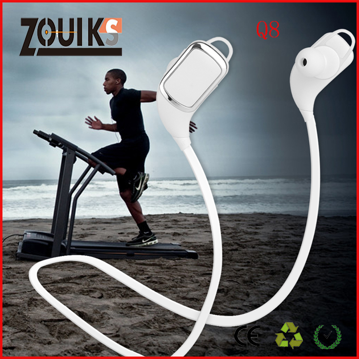zouiks Q8 sport bluetooth earphone ,for sport ,for music ,high quality with's image