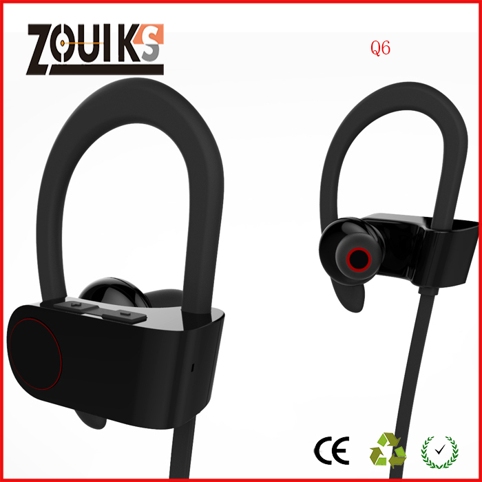 zouiks Q6 sport bluetooth earphone ,for sport ,for music ,high quality with's image
